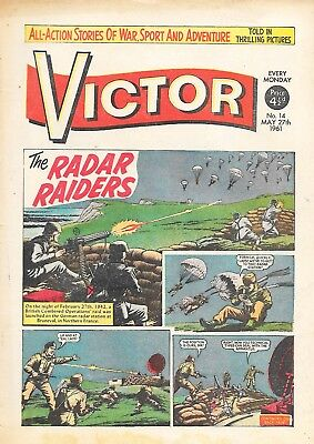 The Victor 14 (May 27, 1961) high grade copy
