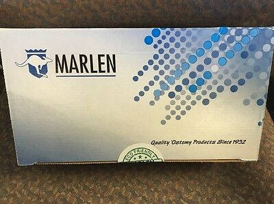 "77064 Marlen 1 1/8"" , Deep Cnvx w/Skin Shield Barrier Urostomy Pouch - 10 pcs"