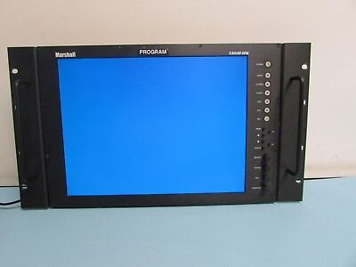 Marshall V-R151DP AFSD Monitor. Condition Good. Pre-Owned.