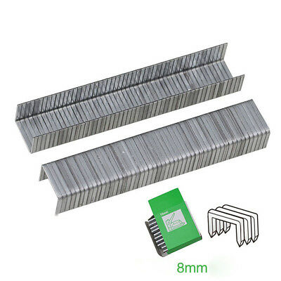 3 Type Steel Nails Staples For Nail Gun Staple Gun Heavy Duty Woodworking Tool