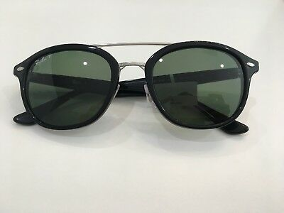 6eb11ae256 AUTHENTIC RAY BAN Sunglasses Rb 2183 901 9A 53Mm Black green ...