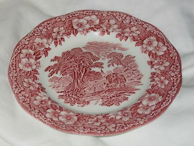 Unicorn English Tableware 🌺 Dessert Teller 🌺  Rot Kuchenteller🌺  Tadellos!