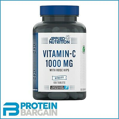 Applied Nutrition  Vitamin C 1000mg with Rose Hips - 100 Tablets FREE DELIVERY