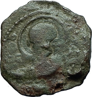 CRUSADERS of Antioch Tancred Ancient 1101AD Byzantine Time Coin St Peter i66344