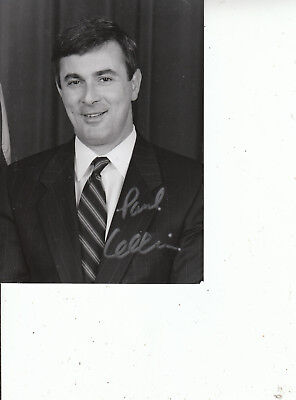 PAUL CELLUCCI SIGNED Mass. Governor Photo