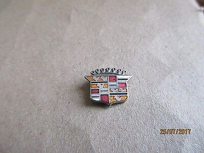 08-01 - CADILLAC pin - car badge - pinback - tie tack - lapel pin - brooch -pins