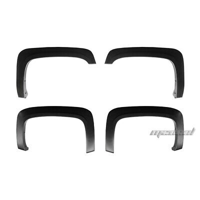 For 2007-2013 Chevy Silverado 1500 2500HD 3500HD Fender Flares Factory Style