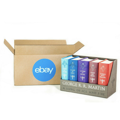 "Official eBay-Branded Boxes With Blue 2-Color Logo 12"" x 6"" x 6"""
