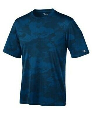 83fdb1294d75 Champion Men's Essential Double Dry T-Shirt - Short Sleeve - 23 COLORS - S