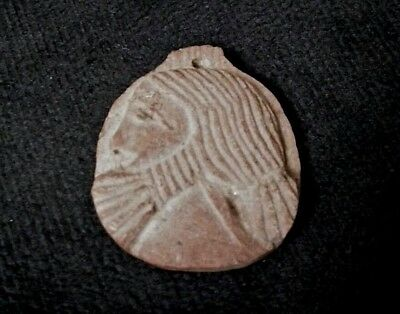 RARE ANCIENT EGYPTIAN STONE AMULET Roman period b (30-641) BC