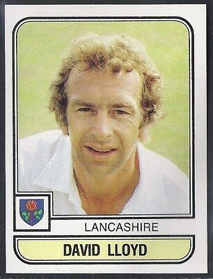Panini-Cricket 83-#093- Lancashire - David Lloyd