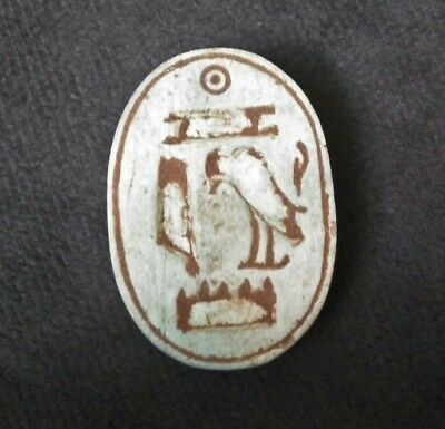 Rare Ancient Egyptian Large green Scarab New Kingdom b (1549–1069) BC