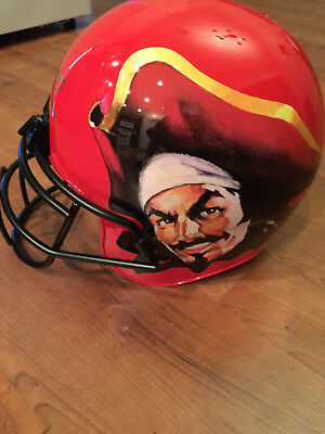 Super Rare Captain Morgan Rum Football Helmet Display Free Shipping