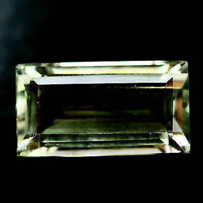 13.16 Ct Aaa! Natural! Green Uruguay Amethyst Baguette