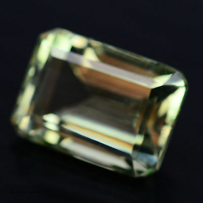 8.39 Ct Aaa! Natural! Green Uruguay Amethyst Octagon