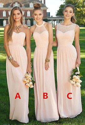 2017 Stock Multi Style Dresses Bridesmaid Dresses Evening Party Prom Ball Gowns