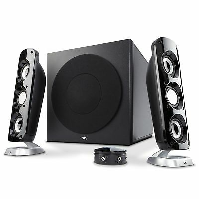 Cyber Acoustics 92W Powerful Computer Speakers with Subwoofer, a thunderous 2.1