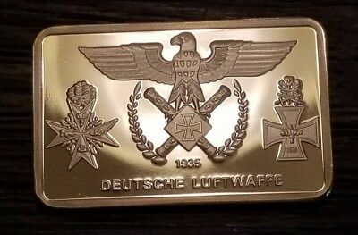 WW2 WWII German Germany Deutsche Luftwaffe air force military souvenir Bar