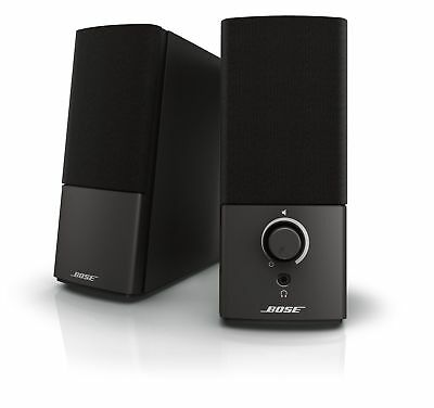 Bose Companion 2 Series III Multimedia Speakers - for PC (with 3.5mm AUX amp; PC
