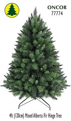 4ft Eco-Friendly Oncor Mixed Alberta Fir Christmas Tree [Open Box]