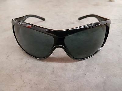 Versace Women's Sunglasses Black with Metal Accents Made in Italy