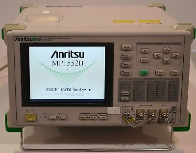 Anritsu MP1552B 2/8/34/139/156M SDH/PDH/ATM Analyzer