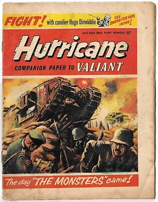 Hurricane 16 May 1964 (mid-high grade) Typhoon Tracy, Skid Solo, Sword for Hire
