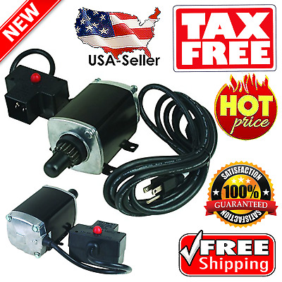 Tecumseh Engine Electric Starter Kit 33329 HMSK70 OHM110 LH OH 8-12hp Snowblower