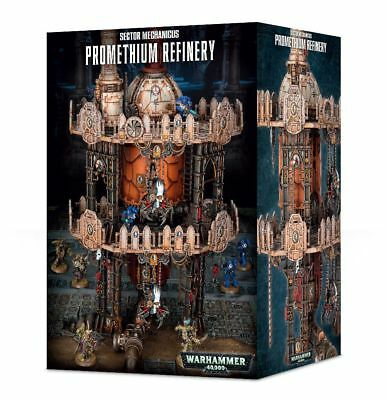 Sector Mechanicus Promethian Refinery Games Workshop Terrain Terrain Necromunda