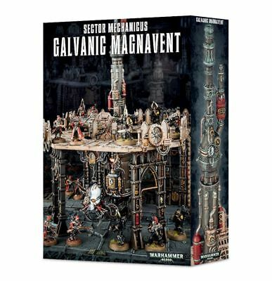 Sector Mechanicus Galvanic magnavent Games Workshop Terrain Terrain Platform