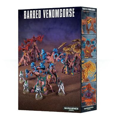 Deathworld Barbed venomgorse Games Workshop Warhammer 40k Dark Eldar Terrain