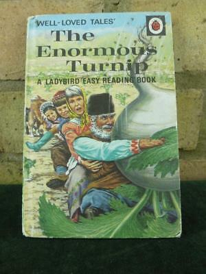 Vintage Ladybird book well loved tales The Enormous Turnip series 606D price 24p