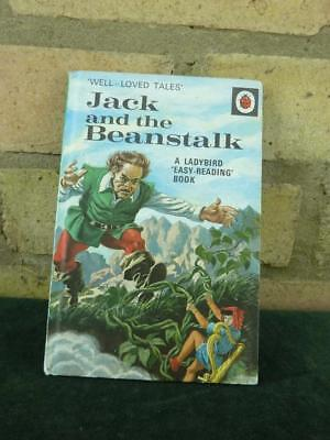 Vintage Ladybird book well loved tales Jack and the Beanstalk ser 606D price 30p