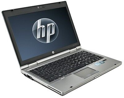 HP Elitebook 2560p i5-2520 2.7GHz max. 3.4 Ghz 4GB 320 HDD Webcam  Windows 7 Pro