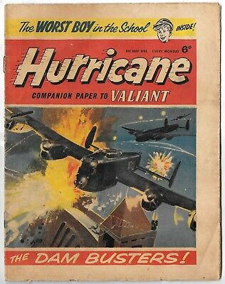 Hurricane 9th May 1964 (mid-high grade) Typhoon Tracy, Skid Solo, Sword for Hire