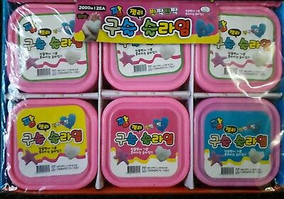 Joblot Of 12 Kids Juice Tub Clay Slime Crystal Clay Tubs Party Loot Bag Filler