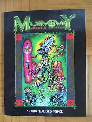 MUMMY SECOND EDITION WOD Word Darkness White WW2224 - Fantasy Roleplaying game R