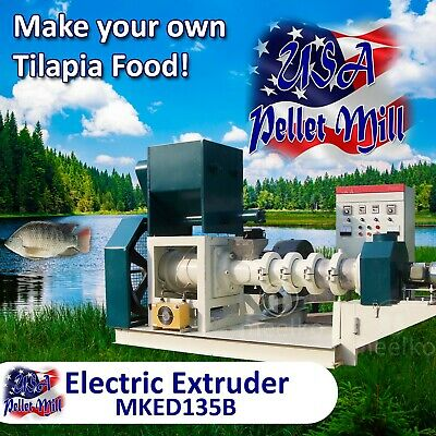 Electric Extruder for Tilapia Food - MKED135B