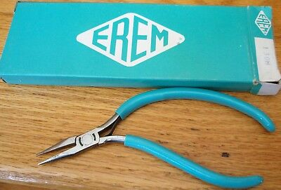 NEEDLE-NOSE-PLIERS, EREM-SWISS-FINE-POINT--Smooth-Jaw FOR-Elec-Jewel