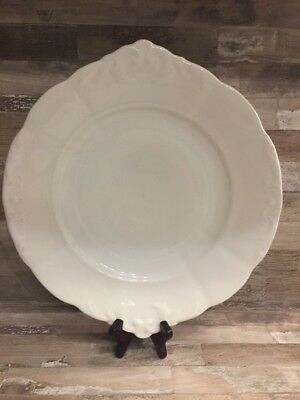 Antique Rare Old Big Porcelain Plates / Speiseteller With Number 1721 / 2. 1890s