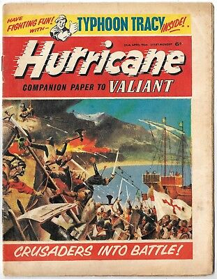 Hurricane 25 April 1964 (high grade) Typhoon Tracy, Skid Solo, Sword for Hire