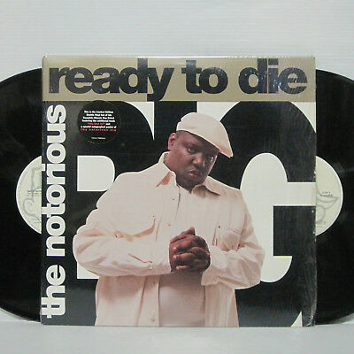 The Notorious BIG - Ready to Die 2LP 1995 ORIG 2pac Snoop Dogg Dr Dre Run DMC
