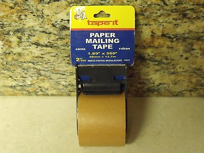 40 Ft. SELF ADHESIVE Standard Kraft Paper Tape NO WATER REQUIRED