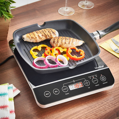 Electric Hot Plate Single Portable Ceramic Cooktop Infrared Cooking Stove Burner
