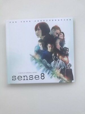 SENSE 8 - SEASON 1 - Netflix Emmy FYC 2016 DVD + 1 Episode Season 2