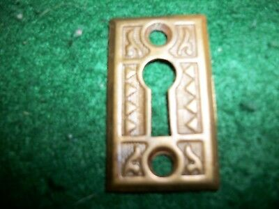 BRONZE=Antique Vintage Fancy  Eastlake Victorian Key Hole Keyhole Cover -DOORS