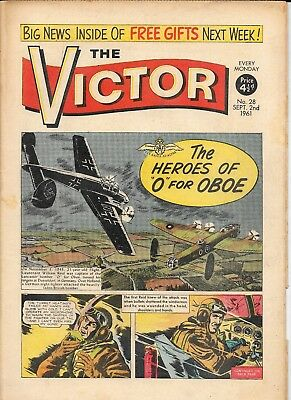 The Victor 28 (Sept 2, 1961) very high grade copy