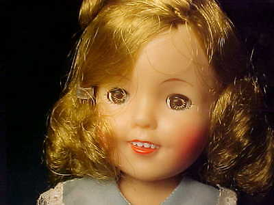 "Shirley Temple Ideal Doll ST-12, 1959  12"" Tall"