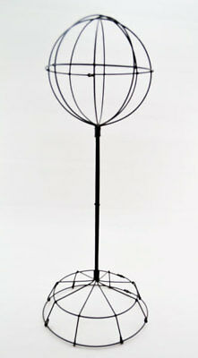 Wire Wide Base Hat Stand - Tall