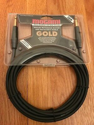 Mogami Gold 18 ft Instrument / Guitar Cable BRAND NEW SEALED